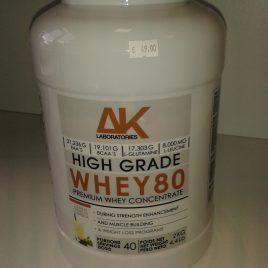 AK NUTRITION  WHEY 80  2000 g