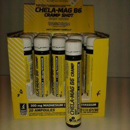 CHELA -MAG +B6 CRAMP  Olimp sport nutrition  25ml