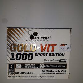 GOLD VITAMINE C Olimpe sport 60 caps 13.95 €